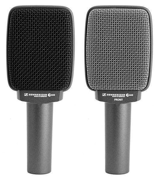 sennheiser e609 s dynamic supercardioid microphone long mcquade musical instruments. Black Bedroom Furniture Sets. Home Design Ideas