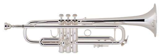 LR180S37 - .459 ML Bore Bb Trumpet - Silver Plated