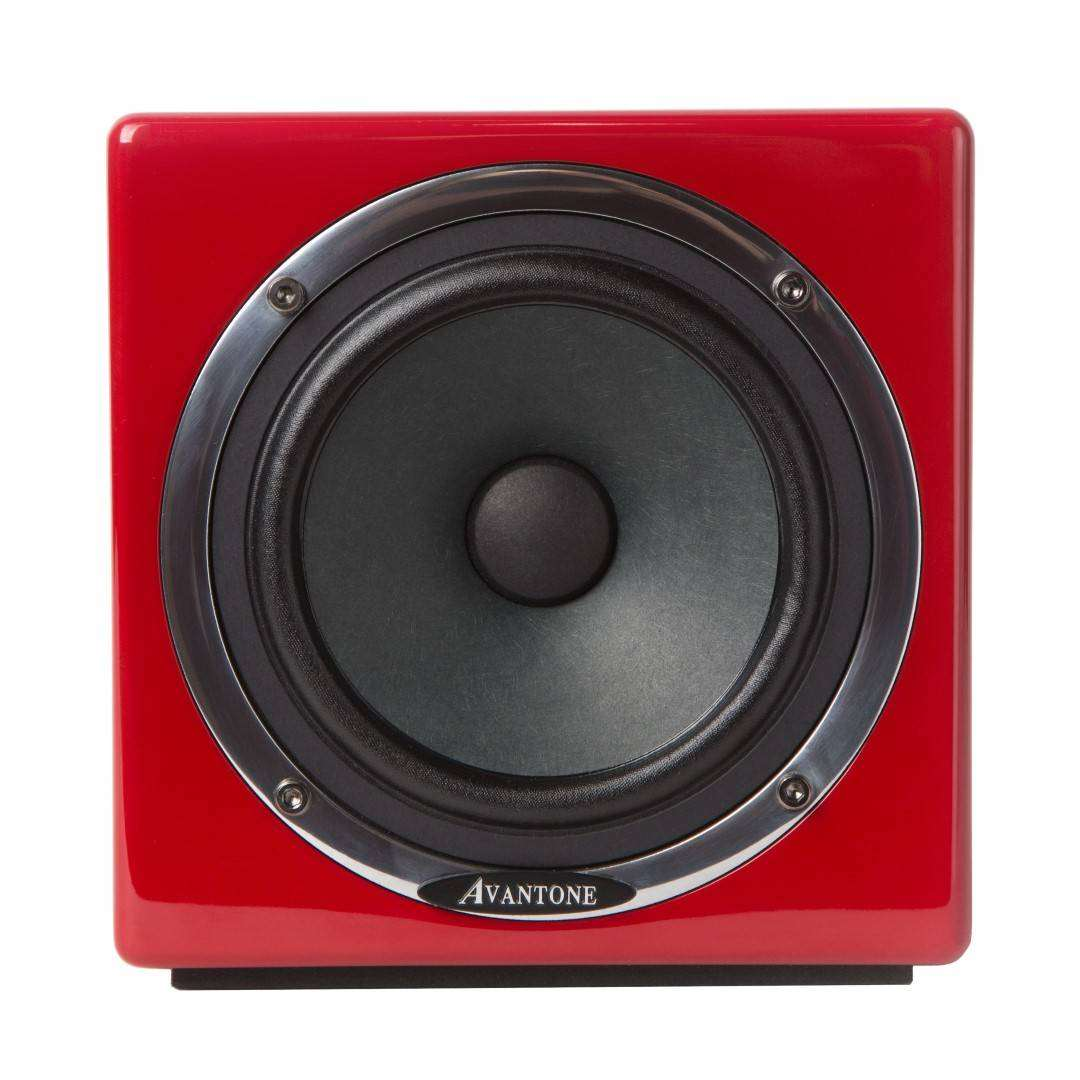 avantone pro mixcube active full range mini reference monitor mono red long mcquade. Black Bedroom Furniture Sets. Home Design Ideas