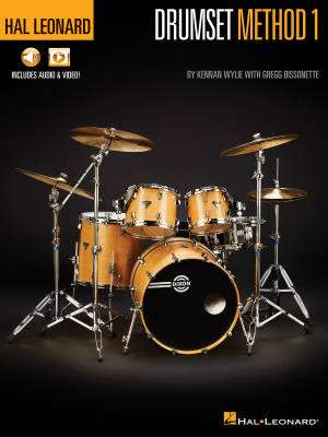 Hal Leonard Drumset Method: Book 1 - Wylie/Bissonette - Book/Media Online