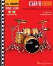 Hal Leonard - Hal Leonard Drumset Method: Complete Edition, Books 1 & 2 - Wylie/Bissonette - Book/Media Online