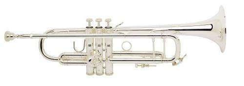 180S-37G Series - .459 Silver Plated Trumpet 37 Gold Brass Bell
