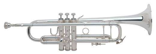 180S-43 Series .459 ML Bore Bb Trumpet - Silver Plated