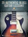 Hal Leonard - 25 Authentic Blues Guitar Lessons - Rubin - Guitar TAB - Book/Audio Online