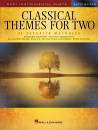 Hal Leonard - Classical Themes for Two Alto Saxes - Book
