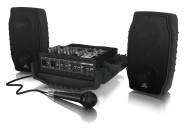 Behringer - PPA200 200W 5-Channel Ultra-Compact Portable PA System