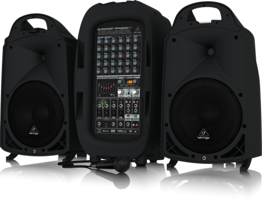 PPA2000BT 2000W 8-Channel Portable PA System w/ FX and Bluetooth