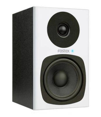 PM0.4c Powered 4'' Desktop Speaker System - White (Pair)