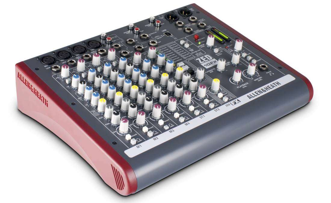 how to use a mixer to record audio
