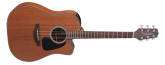 Takamine - GD11MCE-NS All-Mahogany Dreadnought Acoustic-Electric w/ Cutaway