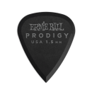 Ernie Ball - 1.5mm Black Standard Prodigy Picks 6-Pack