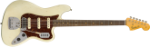 Fender Custom Shop - Journeyman Relic Bass VI - Aged Olympic White