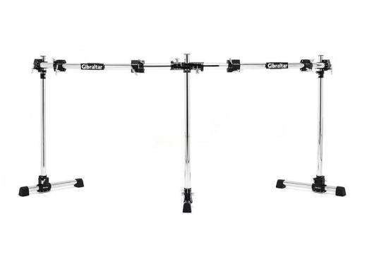Road Series Double Bass Curved Rack Bar