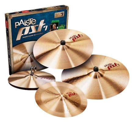 PST7 Universal Cymbal Set with FREE 14'' China