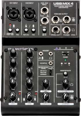 4 Channel USB Recording Mixer