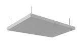 Primacoustic - Nimbus Acoustic Ceiling Cloud - 24x48 w/Hanging Kit, Grey (Pair)