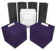 Auralex - Deluxe Plus Roominator Kit - Charcoal/Purple