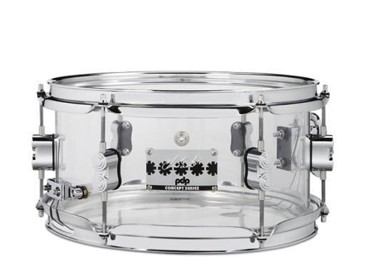 Chad Smith 6x12'' Clear Acrylic Snare