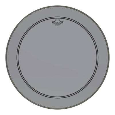 Powerstroke P3 Colortone Bass Drumhead - Smoke - 24''