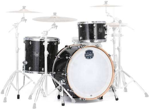Saturn V Tour 3-Piece Shell Pack (24,13,16) - Black Pearl