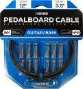 BOSS - Solderless Pedalboard Cable Kit w/12 Connectors, 12 ft Cable