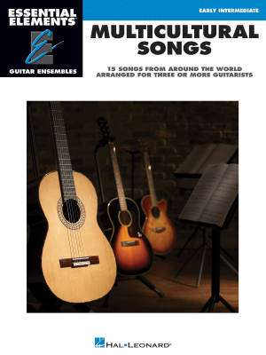 Multicultural Songs: Essential Elements Guitar Ensembles - Book