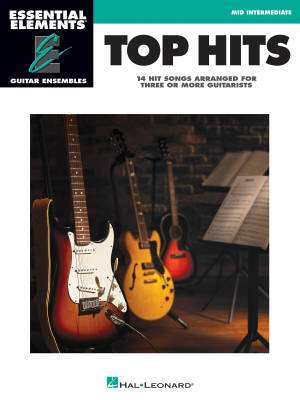 Top Hits: Essential Elements Guitar Ensembles - Book