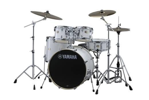 Yamaha Stage Custom Birch 5 Piece Drum Kit 22 10 12 16 Snare W