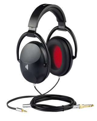 EX25 Plus Closed Back Isolation Headphones - Midnight Black