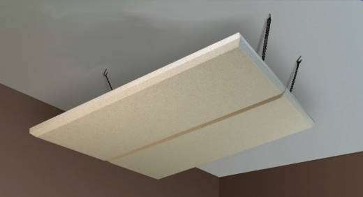 ProCloud Ceiling Panels (2) 4x4' w/Hardware - Sandstone