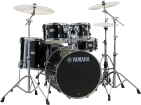 Yamaha - Stage Custom Birch 5-Piece Drum Kit (22,10,12,16, Snare) w/Hardware - Raven Black