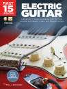 Hal Leonard - First 15 Lessons: Electric Guitar - Nelson - Book/Media Online