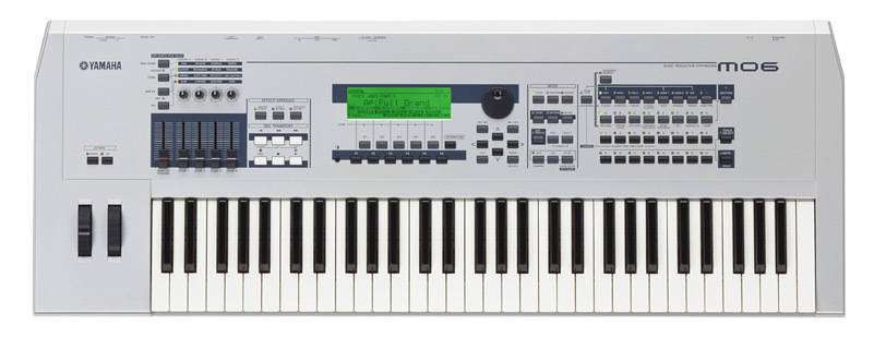 Yamaha mo6 contemporary music production synthesizer for Yamaha music school locations