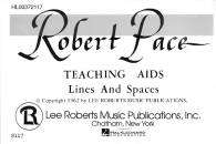 Hal Leonard - Teaching Aids: Lines & Spaces - Pace - Flashcards