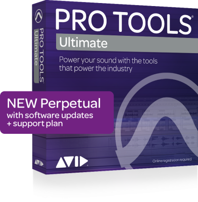 Pro Tools Ultimate Perpetual License (Boxed)