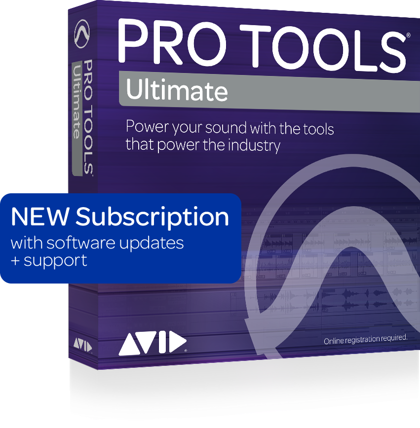 Avid - Pro Tools Ultimate 1-Year Subscription (Boxed)