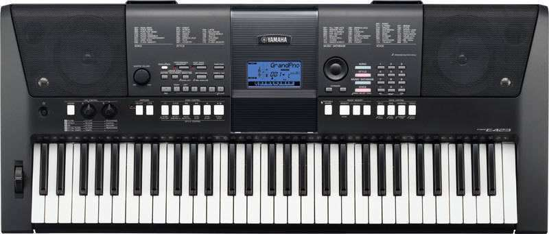 Yamaha psre423 portable keyboard long mcquade for Yamaha music school locations