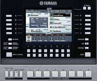 Yamaha PSRS910 - Arranger Workstation - Long & McQuade
