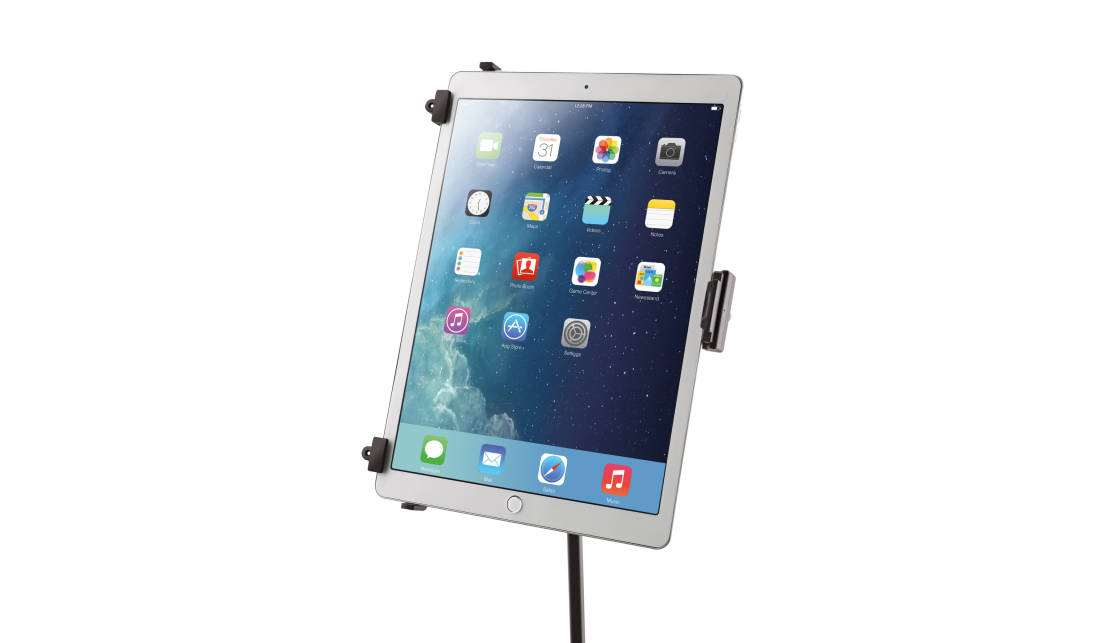 K Amp M Stands 19790 Universal Tablet Holder For Mic Stand