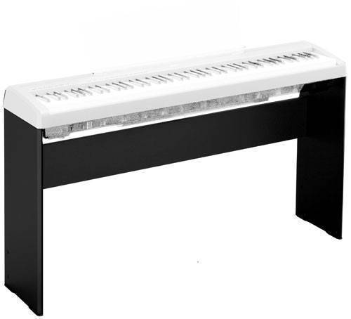 yamaha l 85 stand for p115 no pedals long mcquade musical instruments. Black Bedroom Furniture Sets. Home Design Ideas