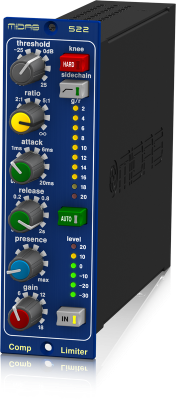 522 Compressor/Limiter with Dynamic Presence Control