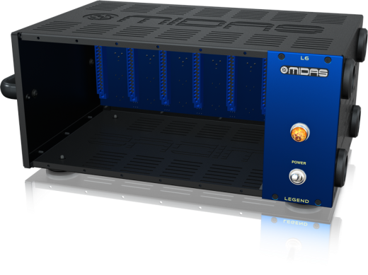 LEGEND L6 500 Series Portable Chassis for 6 Modules with Advanced Audio Routing and Rackmount Kit