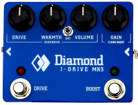Diamond Guitar Pedals - J-Drive Mk3 Overdrive Pedal with Clean Boost Circuit