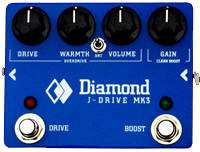 J-Drive Mk3 Overdrive Pedal with Clean Boost Circuit