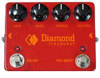 Fireburst Distortion Pedal