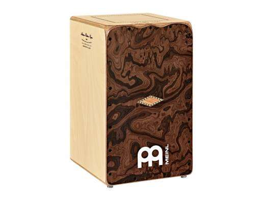 Seguiriya Cajon with Canyon-Burl Frontplate