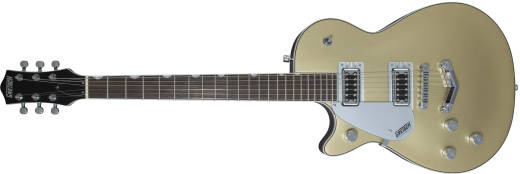 Gretsch Guitars - G5230LH Electromatic Jet FT Single-Cut with Bigsby - Black Walnut Fingerboard - Casino Gold, Left Handed