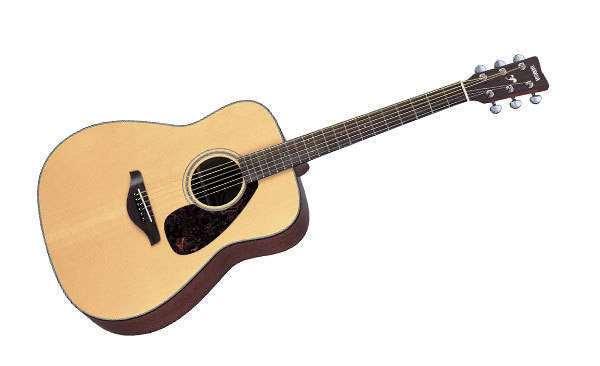 Yamaha fg700ms spruce top matte finish long mcquade for Where are yamaha guitars made