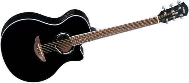 yamaha apx500 thinline acoustic electric guitar black. Black Bedroom Furniture Sets. Home Design Ideas