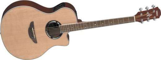 yamaha apx500 thinline acoustic electric guitar natural long mcquade musical instruments. Black Bedroom Furniture Sets. Home Design Ideas